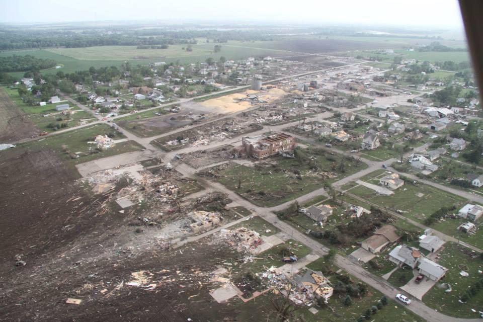 Nebraska Hit Hard by Tornadoes