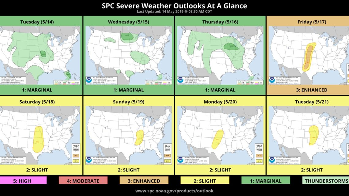 Prolonged severe weather outbreak on the way